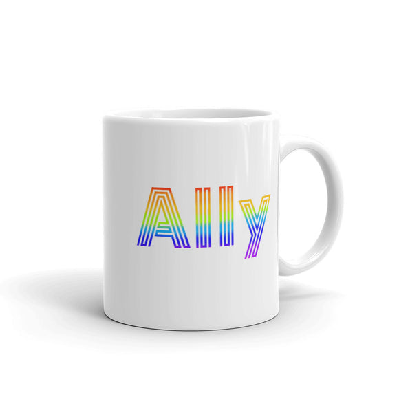 Straight Ally design For LGBT Pride Supporters Mug
