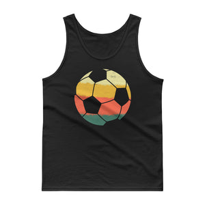 Retro American Soccer Ball Vintage Style print Tank top