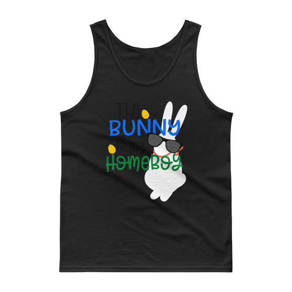 The Bunny Is My Home Boy Easter Bunny Tank top