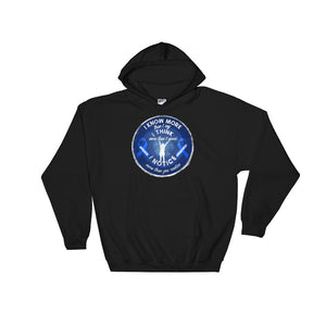 Apraxia Awareness I Know I Think I Notice More Blue Ribbon product Unisex Hooded Sweatshirt
