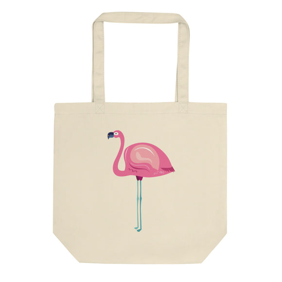 Pink Flamingo Graphic product Eco Tote Bag