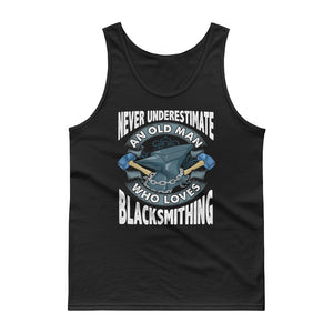 Blacksmith print Gift For Grandfathers Men Uncles Brothers Tank top
