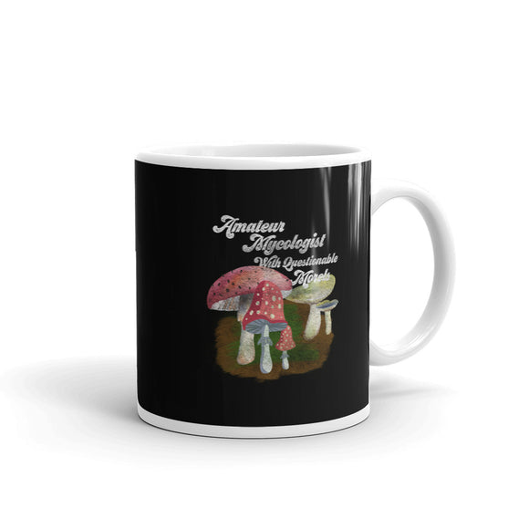 Nerdy Biology Amatuer Mycologist With Questionable Morels Mug