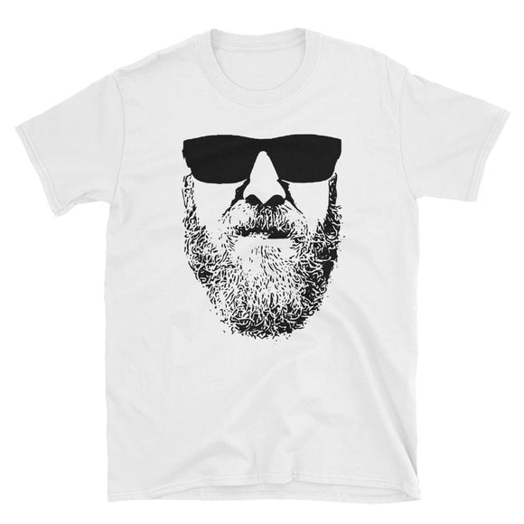 Mens Funny Stylish Beard product For Real Men With Beards Short-Sleeve Unisex T-Shirt