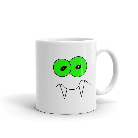 Vampire With Awkward Face Graphic design Mug