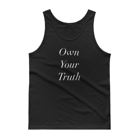 Own Your Truth Inspirational Life Coaching design Tank top