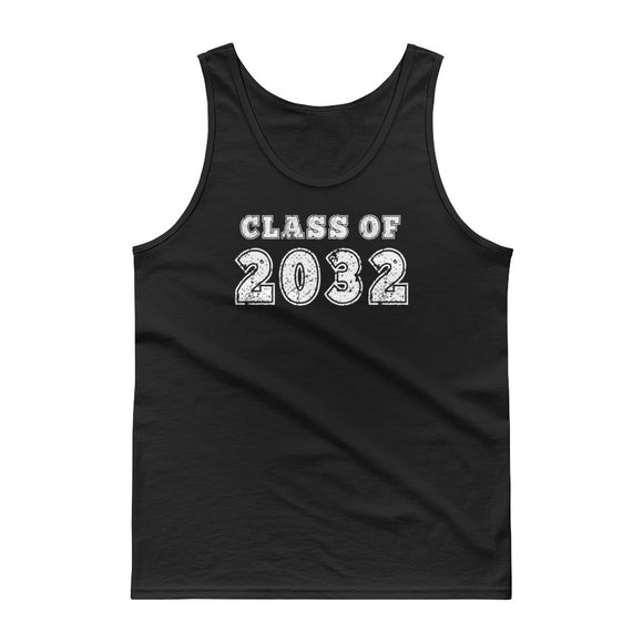 Class of 2032 Distressed Back To School print Tank top