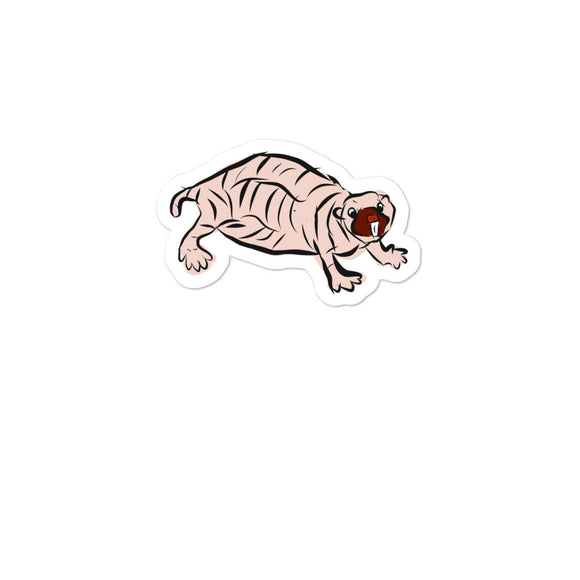 Naked Mole Rat graphic Bubble-free stickers
