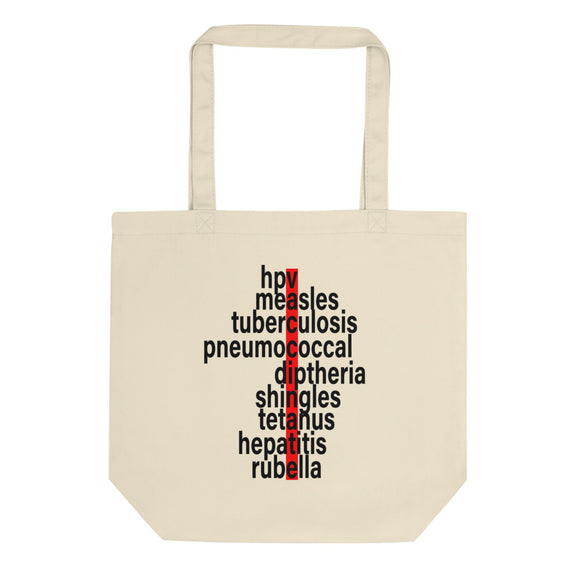 Pro Vaccination product For Immunization Awareness Eco Tote Bag