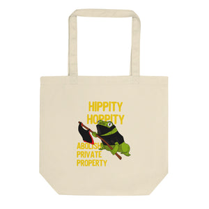 Hippity Hoppity Abolish Private Property Frog Meme design Eco Tote Bag