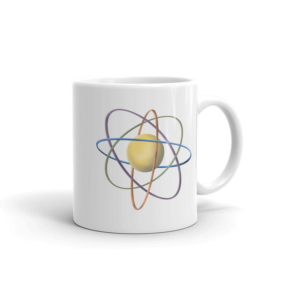 The Atom Retro Style Atomic Model Chemistry Science Graphic product Mug