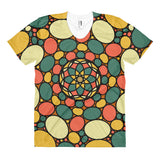 Retro Peace and Tranquility Vintage Zen Stone Garden Women's sublimation t-shirt