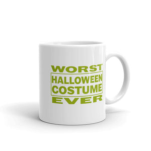Worst Halloween Costume Ever Funny print for lazy people Mug