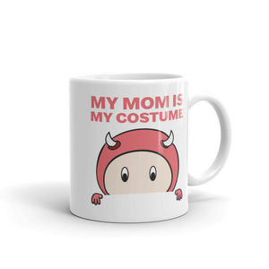 Funny Pregnancy Halloween product My Mom is My Costume Mug