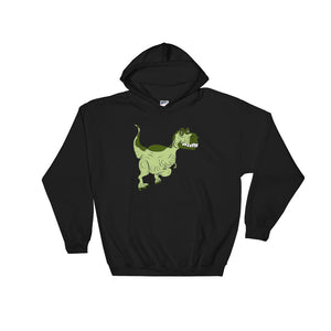 T Rex graphic For Boys and Girls Graphic print Unisex Hooded Sweatshirt