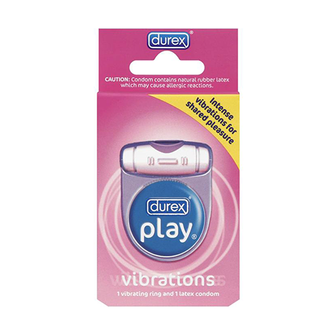 Durex Play Vibrations Ring, Battery and Condom Included product image
