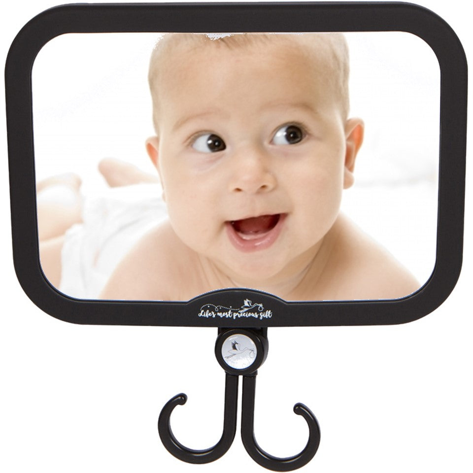 085aae67962 Baby Car Mirror - for Boys and Girls - with Accessories Hook! Best Back Seat  ...