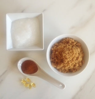 Whipped Brown Sugar & Honey Scrub