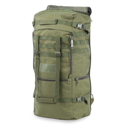 360adeb15 Outdoor 60L Military Bag Durable Unisex Tactical Backpack Bag Oxford Single  Shouder Bag for Camping Hiking