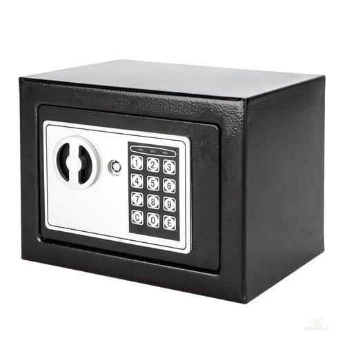7f3bf5d03e2 17E Home Use Electronic Password Steel Plate Safe Box Black - PBG