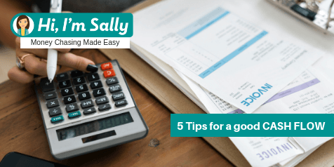 5 tips for a good cash flow