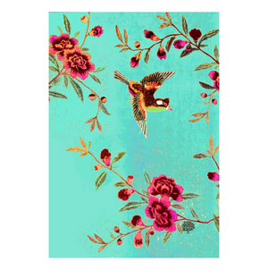 Tea Towel - Chintz Bird