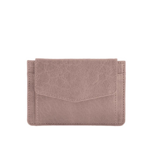 Banksia Leather Cardholder - Blush