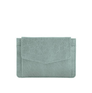 Banksia Leather Cardholder - Sea
