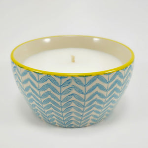Coconut & Lime Ceramic Candle