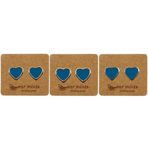 Ear Mints - Enamel Blue Heart