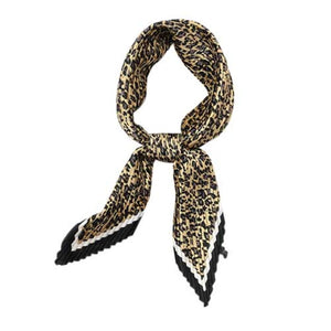 Emilie Gold Pleated Scarf