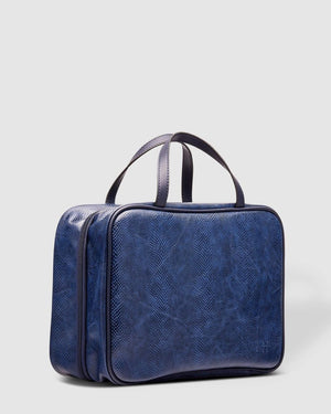 Emma Lizard Toiletry Bag