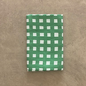 Gingham Napkin Green - Set of 4