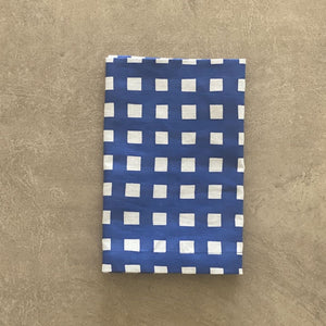 Gingham Napkin Navy - Set of 4