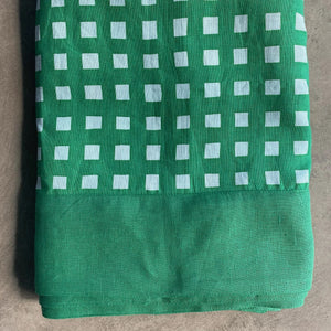 Gingham Tablecloth - Green
