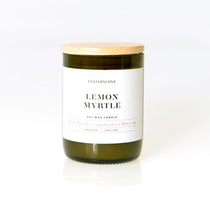 Lemon Myrtle Candle - Medium