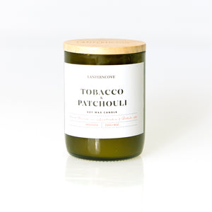 Tobacco & Patchouli Candle - Medium