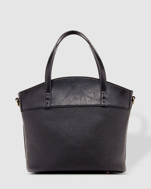 Latrobe Black Top Handle Bag