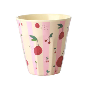 Melamine Cup with Cherry Print
