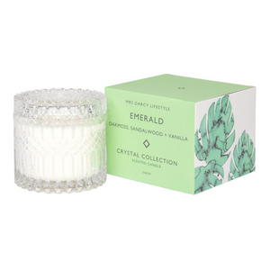Emerald + Oakmoss, Sandalwood and Vanilla Candle - Large