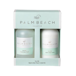 Hand & Body Wash and Lotion Set - Sea Salt