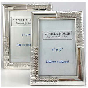 Paloma Silver Photo Frame