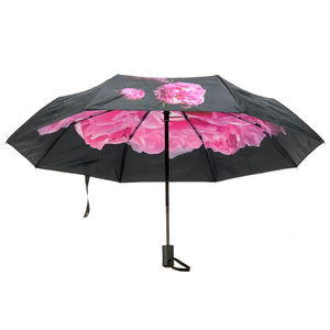 Compact Umbrella - Peonies