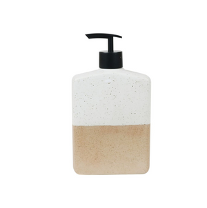 Lotion Bottle 500 ml Granite Half Dipped