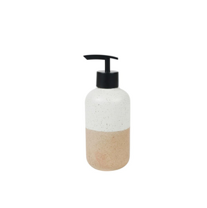 Lotion Bottle 300ml Granite Half Dipped