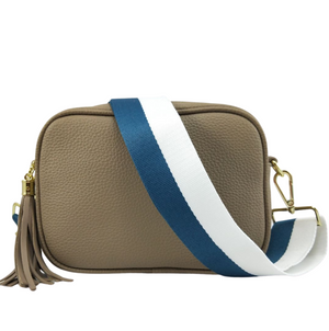 Ruby Sports Crossbody Bag - Taupe