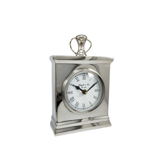Small Rectangle Mantle Clock