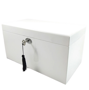 Jewellery Box - White Rectangle
