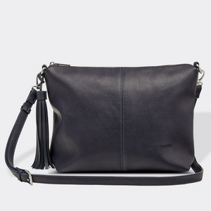 Daisy Navy Crossbody Bag
