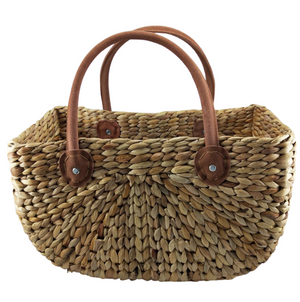 Market Basket Suede Handle